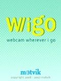WWIGO splash screen on the mobile - gersbo.dk